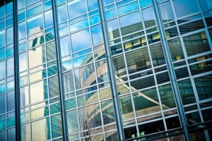 commercial one way glass installation raleigh